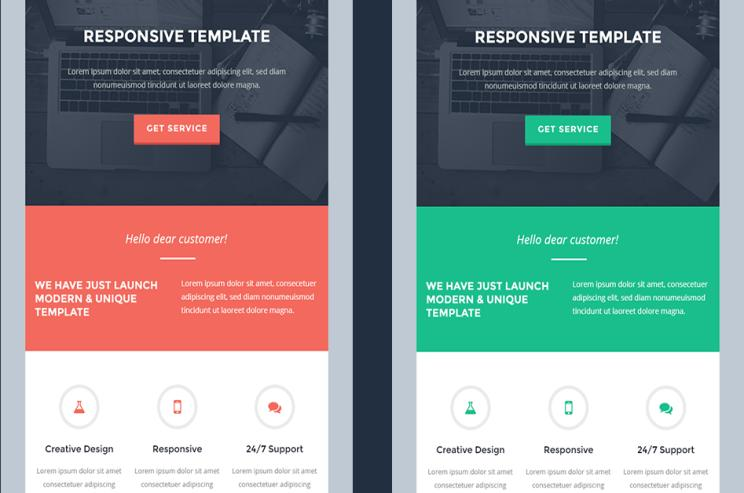 Responsive Email Templates to impress your clients